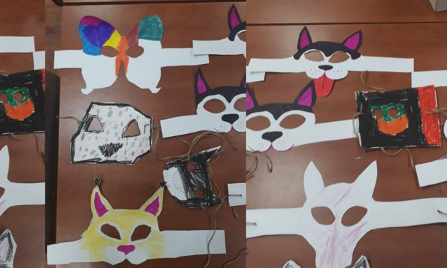 Karnawałowe maski Kredki