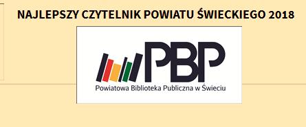Najlepszy Czytelnik Powiatu Świeckiego
