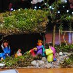 Szopki i kartki świąteczne