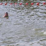 Zawody pływackie w Tleniu