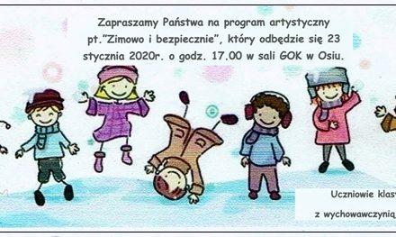 """Przedstawienie """"Zimowo i bezpiecznie"""""""
