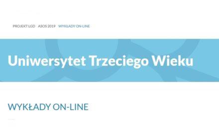 Wykłady w sieci dla Słuchaczy Uniwersytetu Trzeciego Wieku